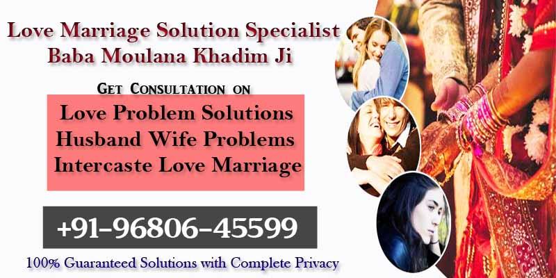 Intercaste Love Marriage Solution
